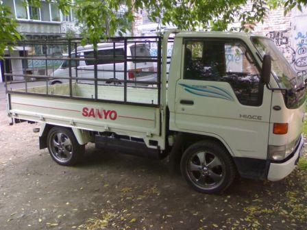 Toyota Hiace Truck 1996 - отзыв владельца