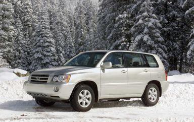 Toyota Highlander, 2001