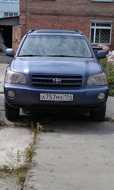 Toyota Highlander 2001 - отзыв владельца