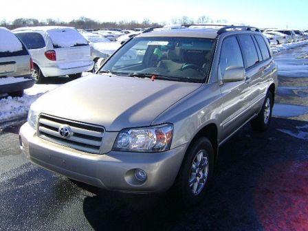 Toyota Highlander 2005 - отзыв владельца