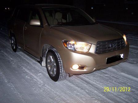 Toyota Highlander 2009 - отзыв владельца