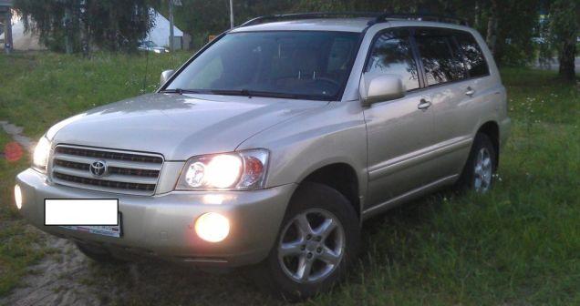 Toyota Highlander 2002 - отзыв владельца