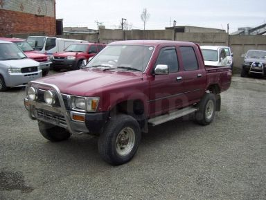 Toyota Hilux Pick Up, 1991