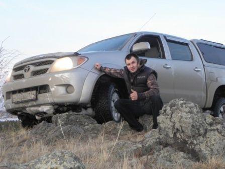 Toyota Hilux Pick Up 2007 - отзыв владельца