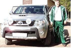 Toyota Hilux Pick Up 2011 - отзыв владельца