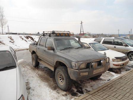Toyota Hilux Pick Up 1994 - отзыв владельца