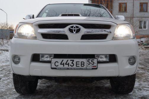 Toyota Hilux Pick Up 2008 - отзыв владельца