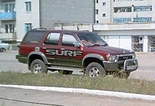 Toyota Hilux Surf, 1990