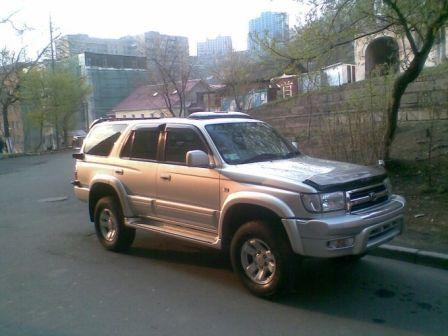 Toyota Hilux Surf 1999 - отзыв владельца