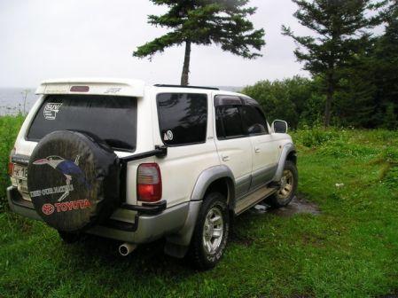 Toyota Hilux Surf 1998 - отзыв владельца
