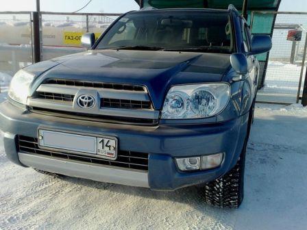 Toyota Hilux Surf 2002 - отзыв владельца