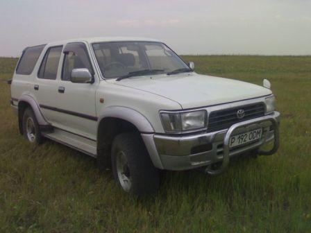 Toyota Hilux Surf 1995 - отзыв владельца