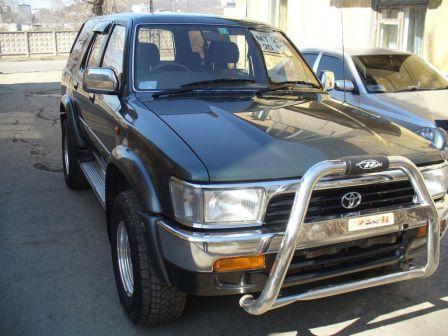 Toyota Hilux Surf 1992 - отзыв владельца