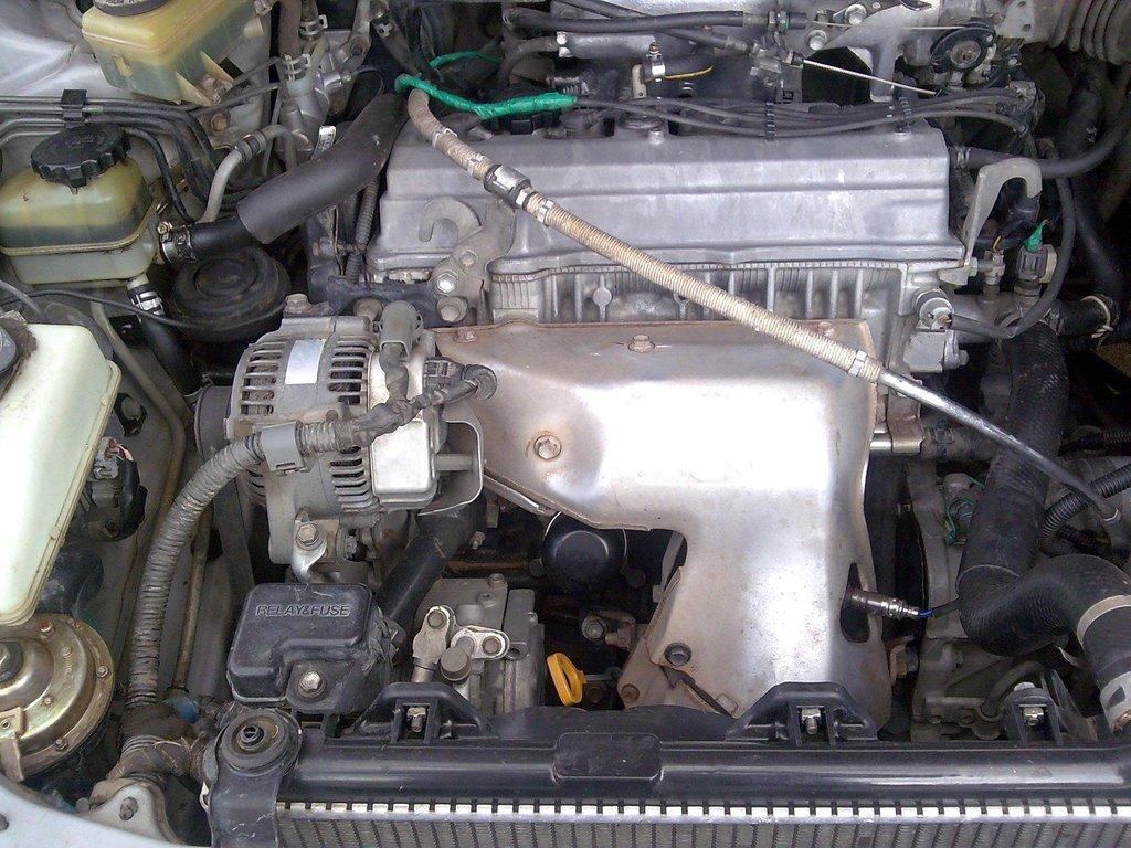 сколько масла в двигатель 3s toyota ipsum