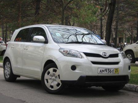 Toyota ist 2007 - отзыв владельца