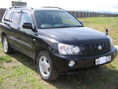 Toyota Kluger V, 2009
