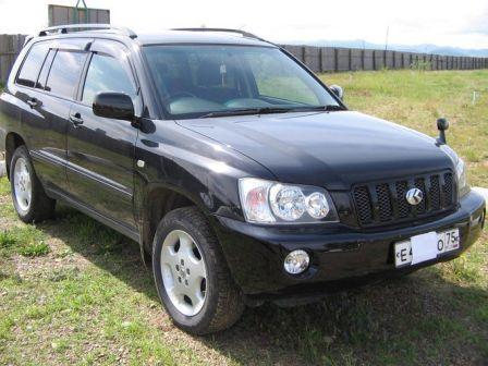 Toyota Kluger V 2009 - отзыв владельца