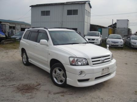 Toyota Kluger V 2005 - отзыв владельца