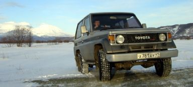 Toyota Land Cruiser, 1988