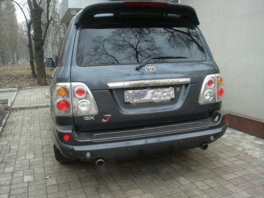 Toyota Land Cruiser 2003 отзыв автора | Дата публикации 12.02.2008.
