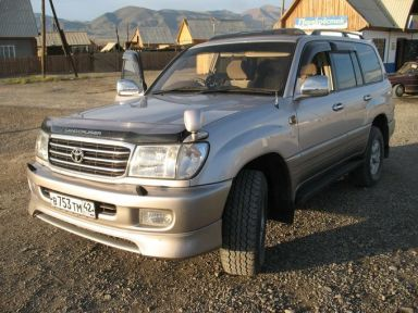 Toyota Land Cruiser, 1999