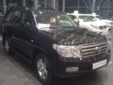 Toyota Land Cruiser, 2010