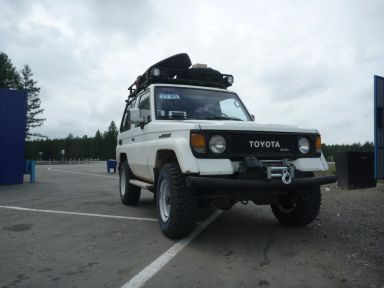 Toyota Land Cruiser, 1989