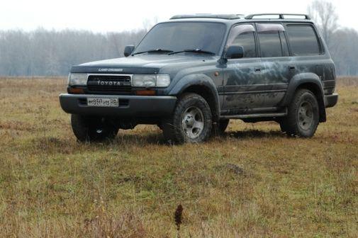Toyota Land Cruiser 1991 - отзыв владельца