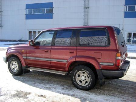 Toyota Land Cruiser 1995 - отзыв владельца