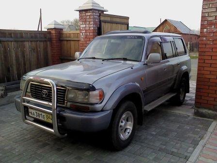 Toyota Land Cruiser 1994 - отзыв владельца