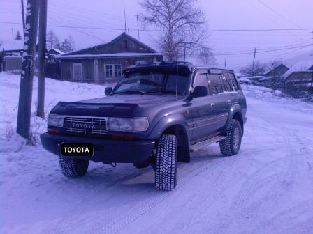 Toyota Land Cruiser 1993 - отзыв владельца