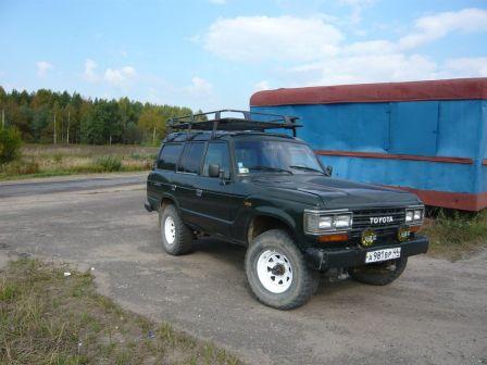 Toyota Land Cruiser 1989 - отзыв владельца