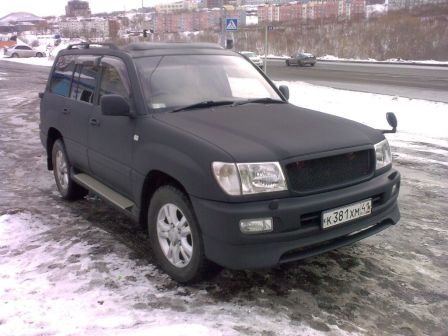 Toyota Land Cruiser 1998 - отзыв владельца