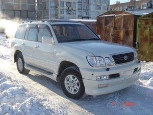 Toyota Land Cruiser Cygnus, 1999