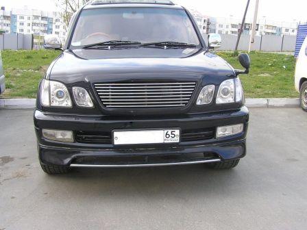 Toyota Land Cruiser Cygnus 2001 - отзыв владельца
