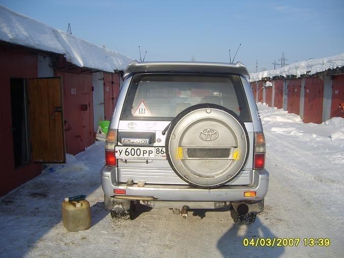 радиатор на ленд крузер 80