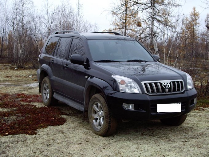 land cruiser prado ттх