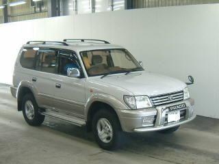 Toyota Land Cruiser Prado, 2001