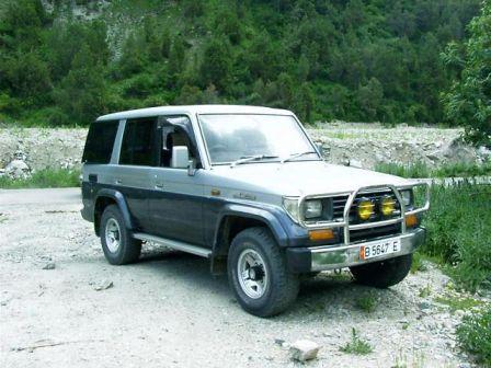 Toyota Land Cruiser Prado 1992 - отзыв владельца