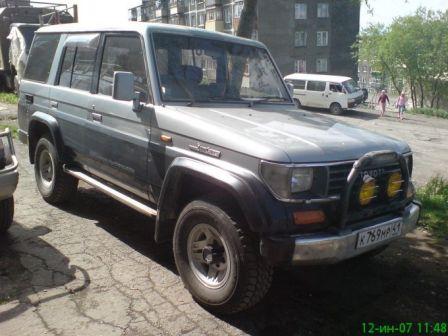 Toyota Land Cruiser Prado 1991 - отзыв владельца