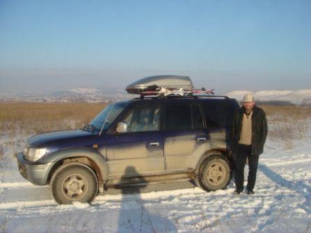 Toyota Land Cruiser Prado 1998 - отзыв владельца