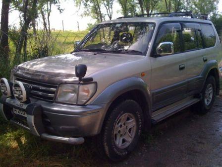 Toyota Land Cruiser Prado 1996 - отзыв владельца