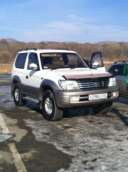 Toyota Land Cruiser Prado 2000 - отзыв владельца