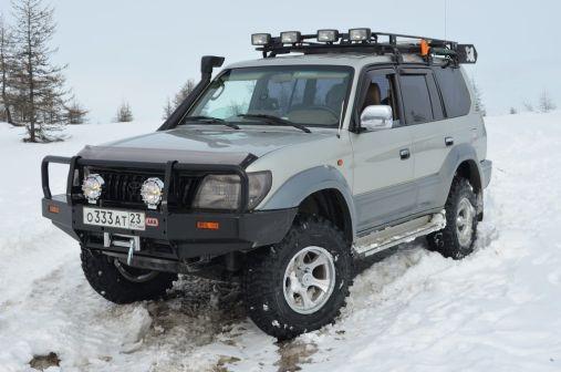 Toyota Land Cruiser Prado 2002 - отзыв владельца