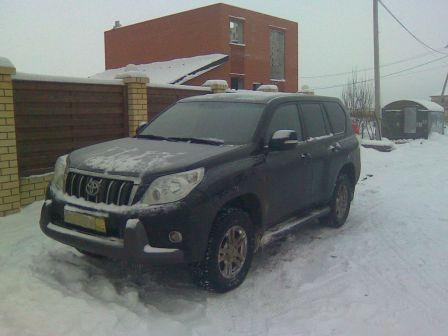 Toyota Land Cruiser Prado 2011 - отзыв владельца