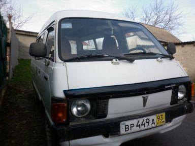Toyota Lite Ace 1981 отзыв автора | Дата публикации 07.01.2012.