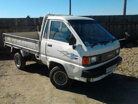 Toyota Lite Ace Truck 1987 - отзыв владельца