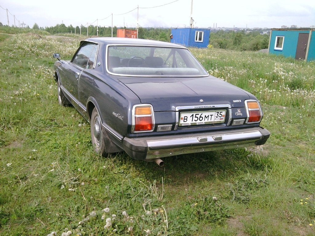 toyota mark ii 1979 год