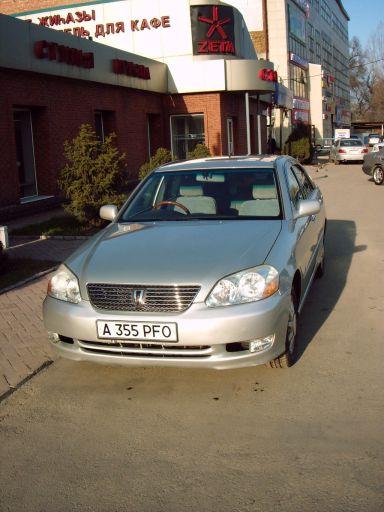 Toyota Mark II 2000 отзыв автора | Дата публикации 19.08.2010.