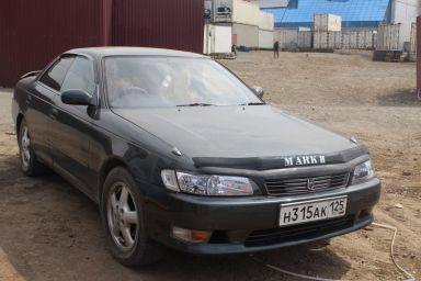 Toyota Mark II 1994 отзыв автора | Дата публикации 23.04.2012.